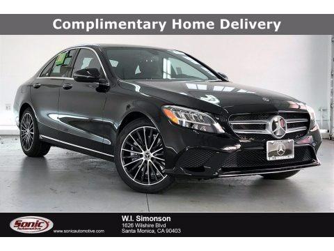 Black 2021 Mercedes-Benz C 300 Coupe
