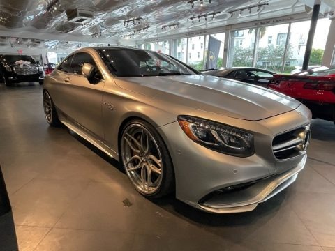 designo Magno Alanite Grey 2015 Mercedes-Benz S 550 4Matic Coupe