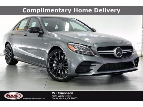 Selenite Gray Metallic 2021 Mercedes-Benz C AMG 43 4Matic Sedan