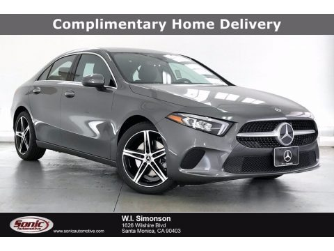 Mountain Grey Metallic 2021 Mercedes-Benz A 220 Sedan