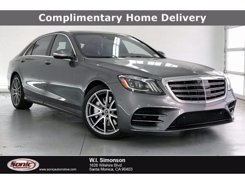 Selenite Grey Metallic 2020 Mercedes-Benz S 560 Sedan
