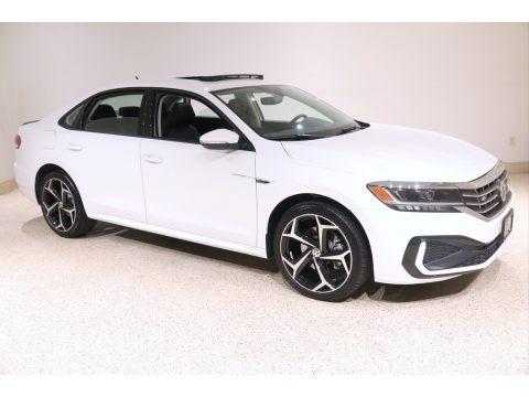 Pure White 2020 Volkswagen Passat R-Line