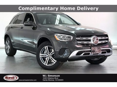 Graphite Gray Metallic 2021 Mercedes-Benz GLC 300 4Matic
