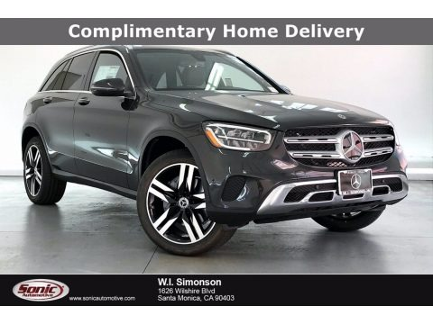 Graphite Gray Metallic 2021 Mercedes-Benz GLC 300