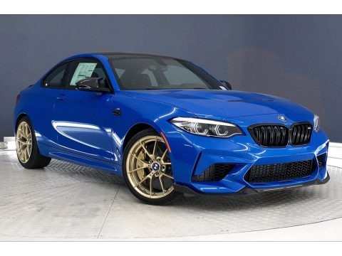 Misano Blue Metallic 2020 BMW M2 Competition Coupe