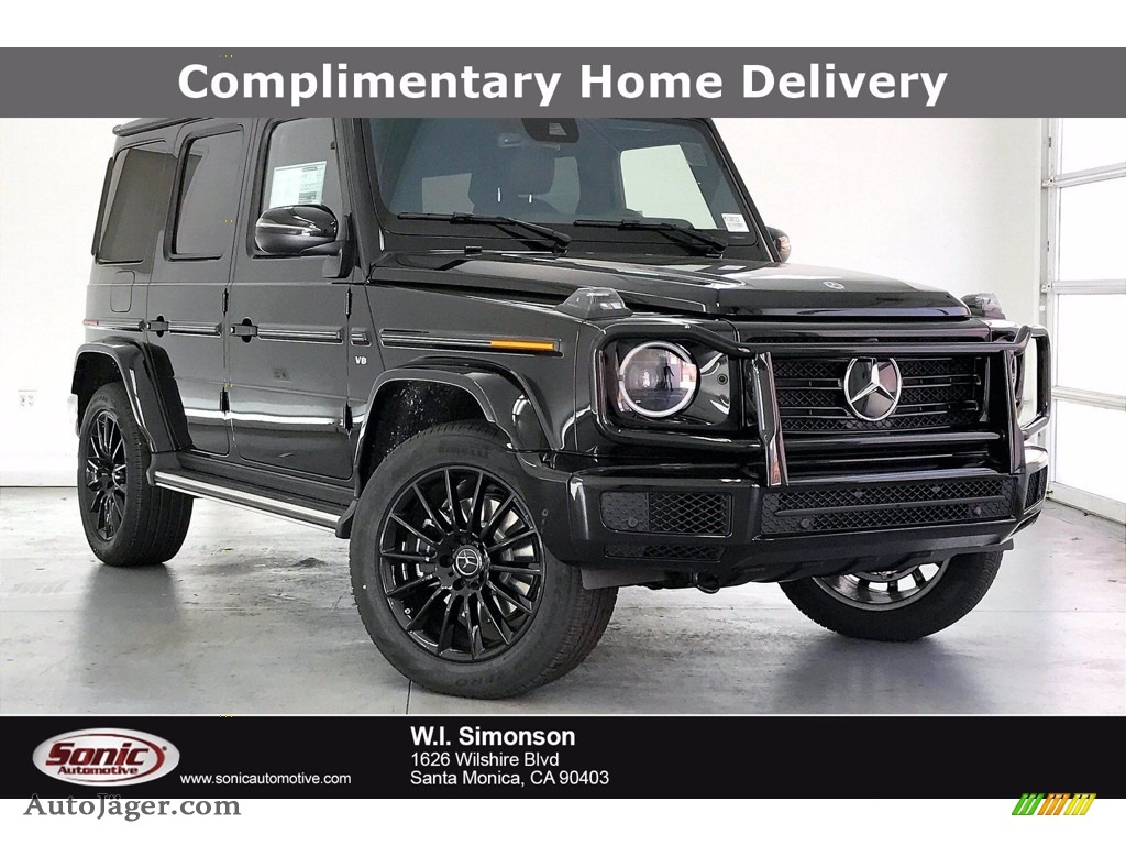 Obsidian Black Metallic / Black Mercedes-Benz G 550