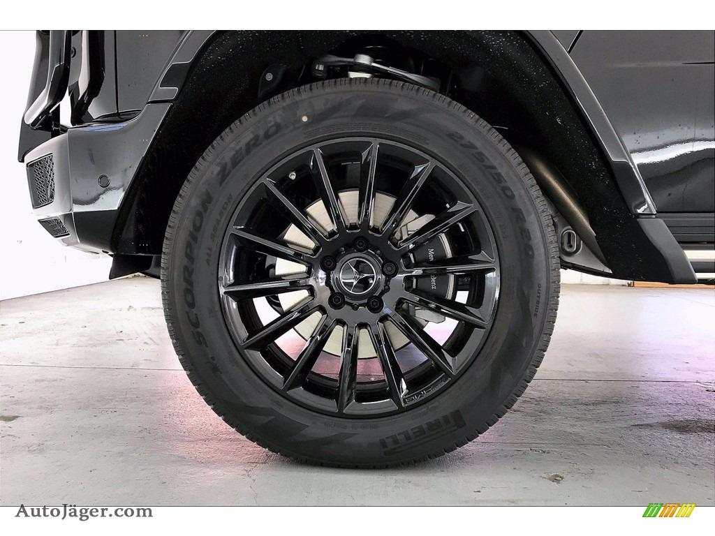 2021 G 550 - Obsidian Black Metallic / Black photo #9
