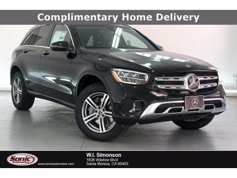 Black 2021 Mercedes-Benz GLC 300