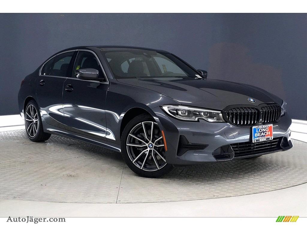 2021 3 Series 330i Sedan - Mineral Gray Metallic / Black photo #1