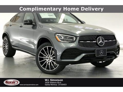 Selenite Gray Metallic 2021 Mercedes-Benz GLC 300 4Matic Coupe