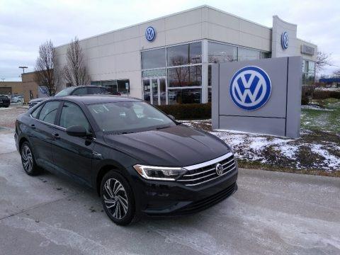 Deep Black Pearl 2021 Volkswagen Jetta SEL