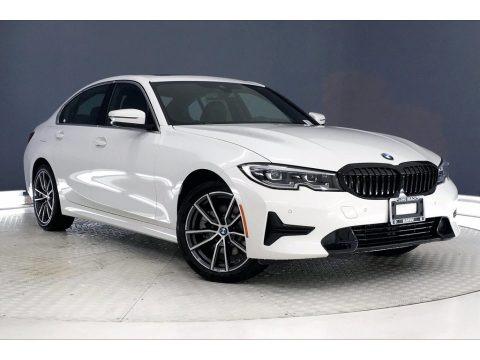 Alpine White 2021 BMW 3 Series 330i Sedan