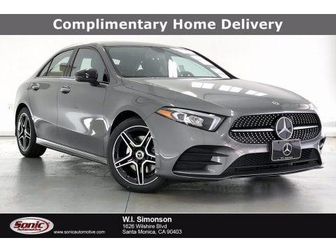 Mountain Grey Metallic 2021 Mercedes-Benz A 220 Sedan