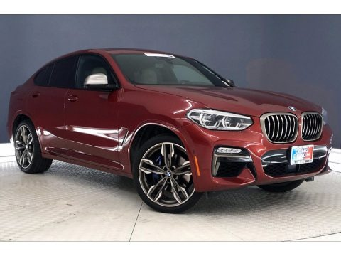 Flamenco Red Metallic 2019 BMW X4 M40i