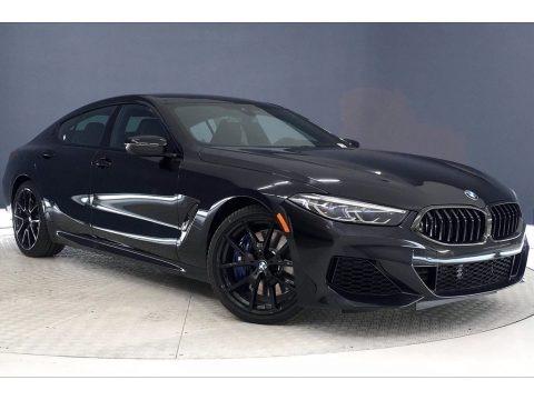 Black Sapphire Metallic 2021 BMW 8 Series 840i Gran Coupe