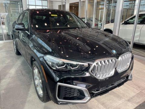 Black Sapphire Metallic 2021 BMW X6 xDrive40i