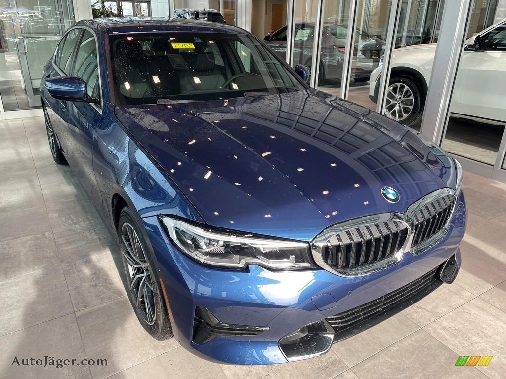 2021 3 Series 330i xDrive Sedan - Phytonic Blue Metallic / Black photo #1