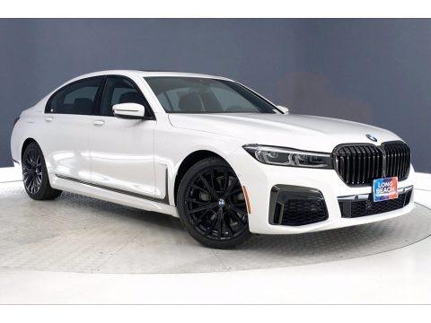 Alpine White 2021 BMW 7 Series 740i Sedan