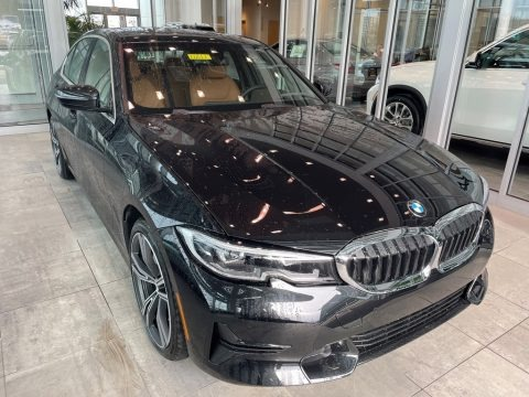 Black Sapphire Metallic 2021 BMW 3 Series 330i xDrive Sedan