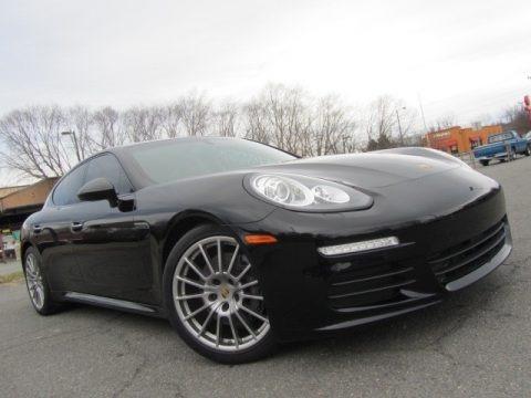 Black 2015 Porsche Panamera