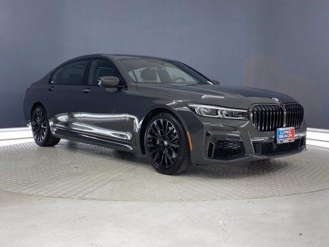 Dravit Gray Metallic 2021 BMW 7 Series 740i Sedan