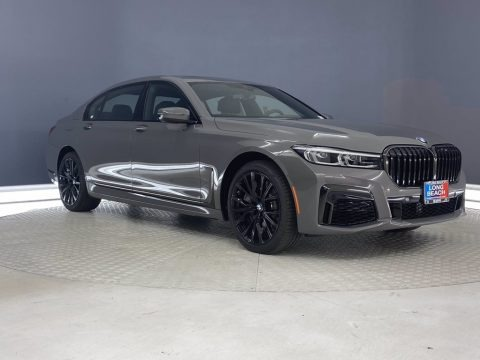 Bernina Gray Amber Effect 2021 BMW 7 Series 750i xDrive Sedan