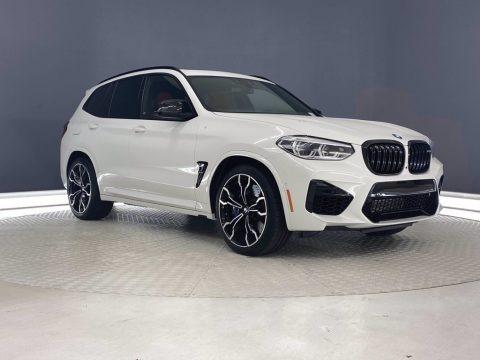Alpine White 2021 BMW X3 M