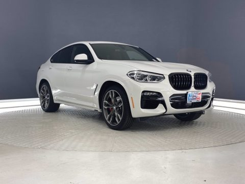 Alpine White 2021 BMW X4 M40i