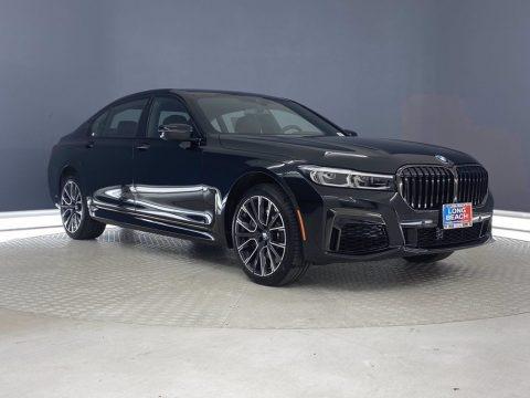 Black Sapphire Metallic 2021 BMW 7 Series 750i xDrive Sedan