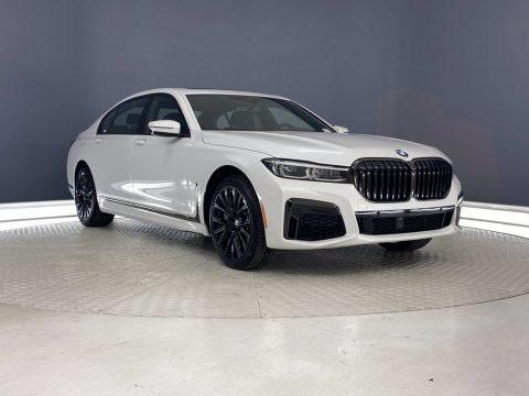 Mineral White Metallic 2021 BMW 7 Series 750i xDrive Sedan