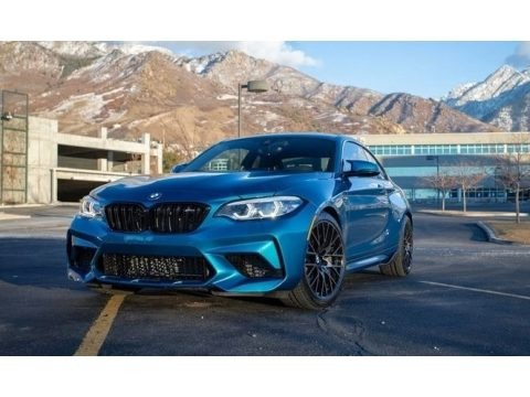 Long Beach Blue Metallic 2020 BMW M2 Competition Coupe