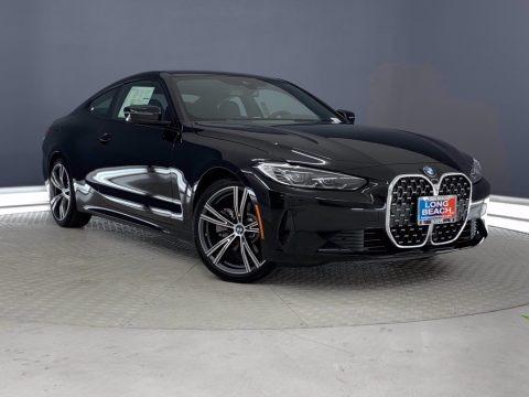 Jet Black 2021 BMW 4 Series 430i Coupe
