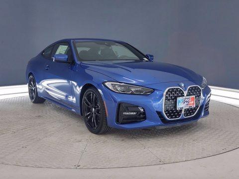 Portimao Blue Metallic 2021 BMW 4 Series 430i Coupe
