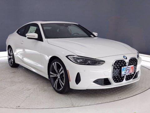 Alpine White 2021 BMW 4 Series 430i Coupe
