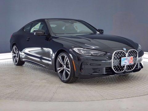 Black Sapphire Metallic 2021 BMW 4 Series 430i Coupe