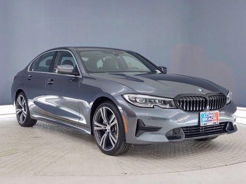 Mineral Gray Metallic 2021 BMW 3 Series 330i Sedan
