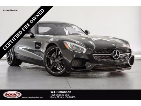 Black 2017 Mercedes-Benz AMG GT Coupe