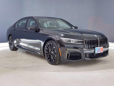 Black Sapphire Metallic 2021 BMW 7 Series 740i Sedan