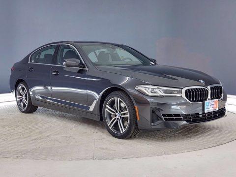 Dark Graphite Metallic 2021 BMW 5 Series 540i Sedan