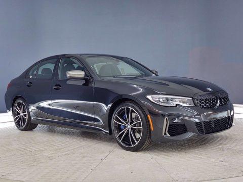 Black Sapphire Metallic 2021 BMW 3 Series M340i Sedan