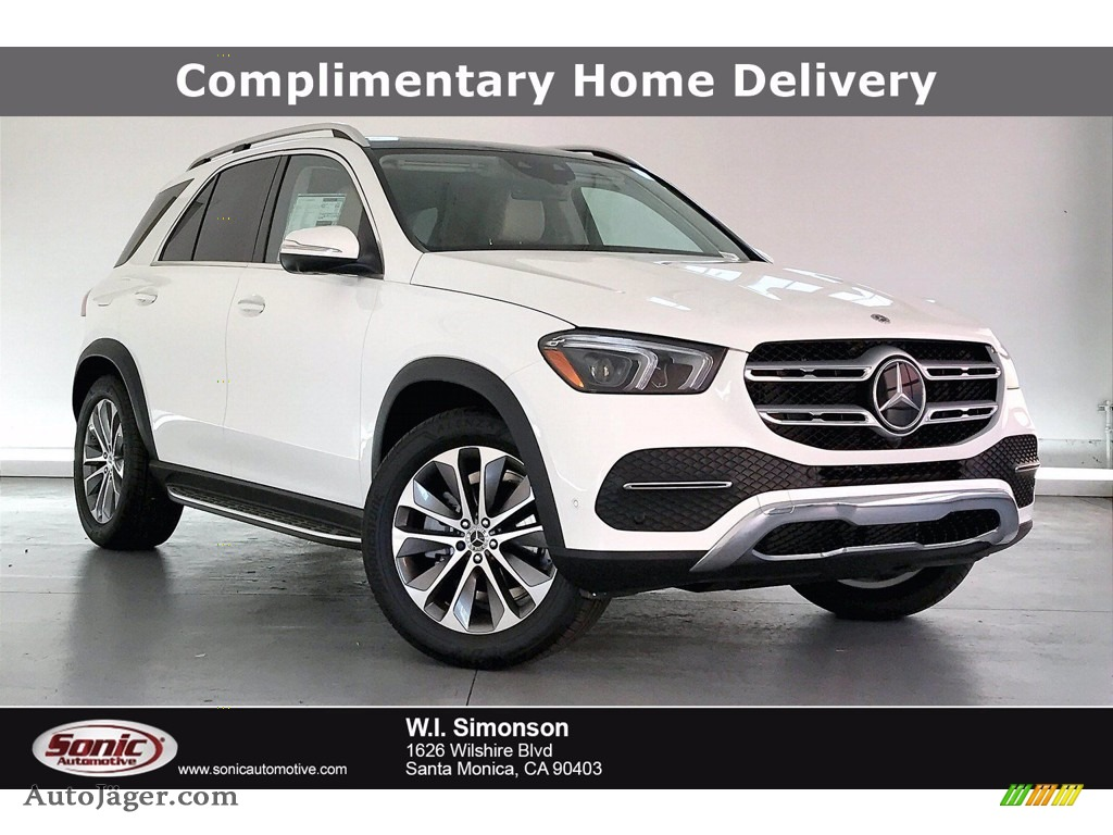 Polar White / Macchiato Beige/Black Mercedes-Benz GLE 350 4Matic