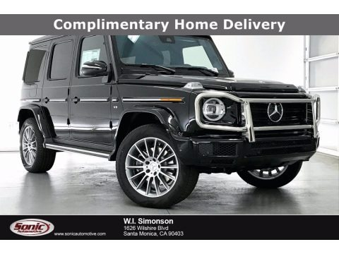 Black 2021 Mercedes-Benz G 550