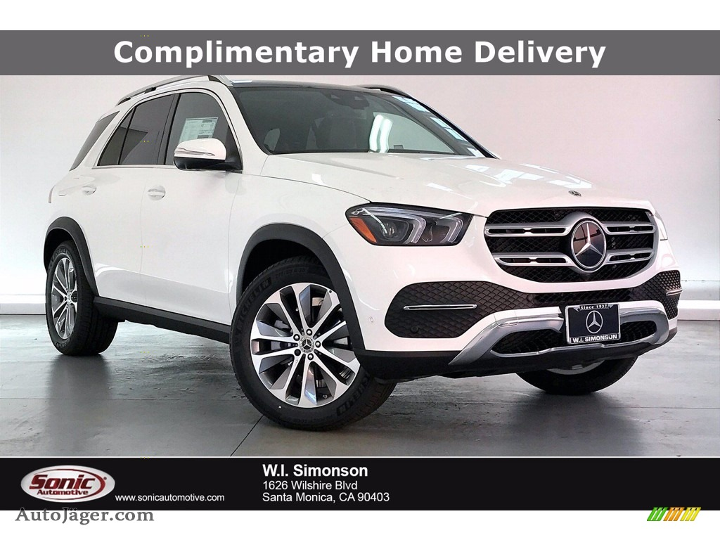 2021 GLE 350 4Matic - Polar White / Black photo #1
