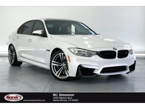 Mineral White Metallic 2016 BMW M3 Sedan