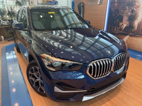 Phytonic Blue Metallic 2021 BMW X1 xDrive28i