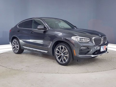 Dark Graphite Metallic 2021 BMW X4 xDrive30i