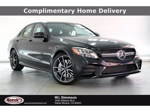 Black 2021 Mercedes-Benz C AMG 43 4Matic Sedan