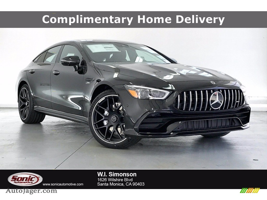 2021 AMG GT 43 - Obsidian Black Metallic / Black photo #1