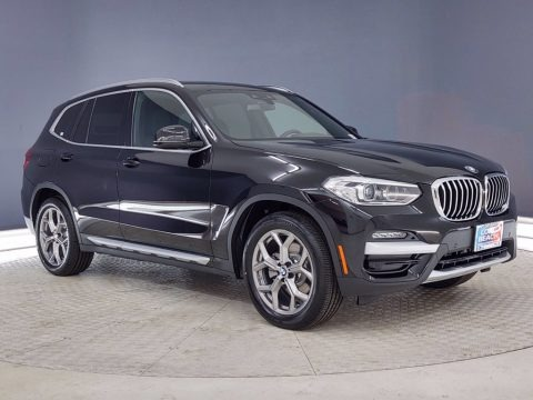 Jet Black 2021 BMW X3 xDrive30i