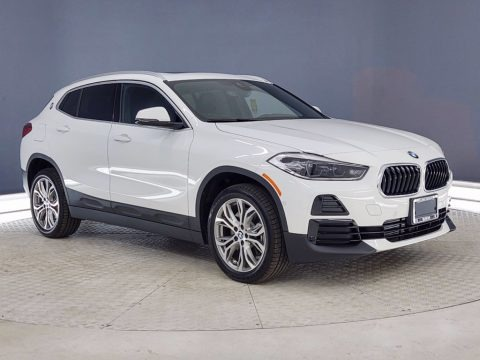 Alpine White 2021 BMW X2 xDrive28i